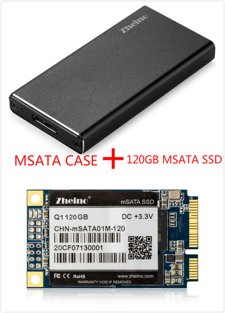 Zheino P3 120 Г USB3.0 Внешний Алюминиевый Корпус Super Speed с mSATA mSATA Твердотельный Накопитель для Hlaf и mSATA SSD
