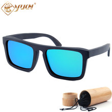 Real wooden sunglasses classic women/men polarized glasses high qualityt handmade sun glasses oculos masculino W3014