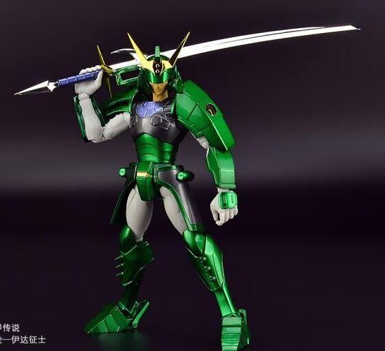 In voorraad u jia model Seiji Datum Yoroiden Samurai Troopers Ronin Warriors action figure speelgoed metal armor-in Actie- & Speelgoedfiguren van Speelgoed & Hobbies op  Groep 2