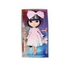 ICY Neo Blythe Doll Full Combo Box Black Hair Azone Body 28cm