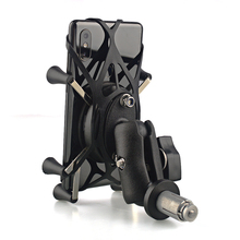 Держатель телефона для YAMAHA YZF R1 2002- R6 2006-17 RIM аксессуары для мотоциклов gps навигационный кронштейн для 3,5-6,5 дюймовых мобильного телефона