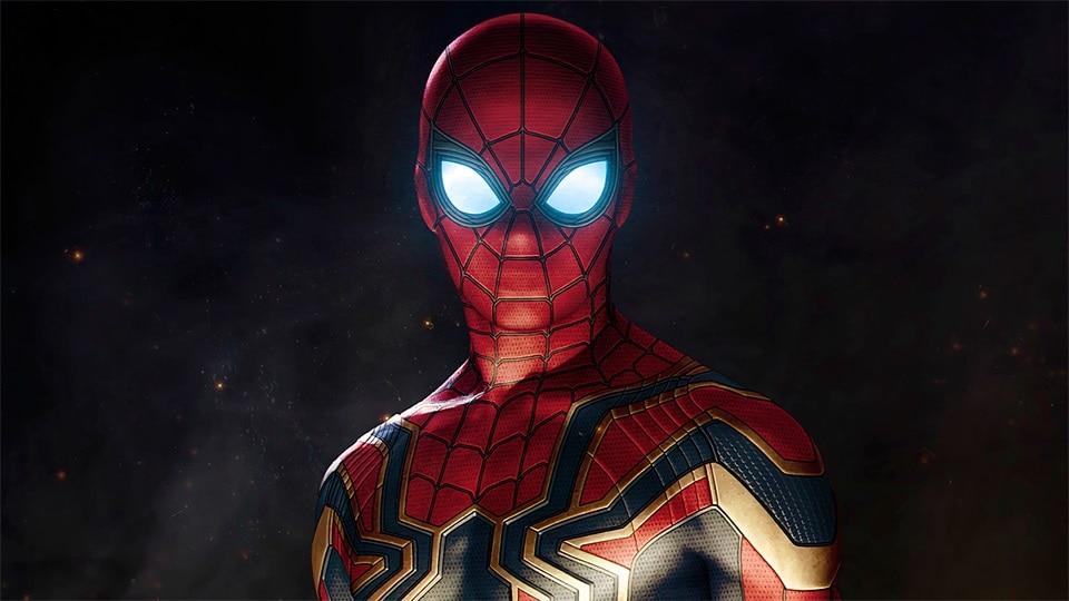 Avengers Infinity War Marvel Spider-Man pintura de la lona - Decoración del hogar