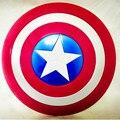 Мстители Капитан 32 СМ Америка Щит Светоизлучающих и Звук Косплей недвижимости Игрушки Металлический щит Красный/Синий