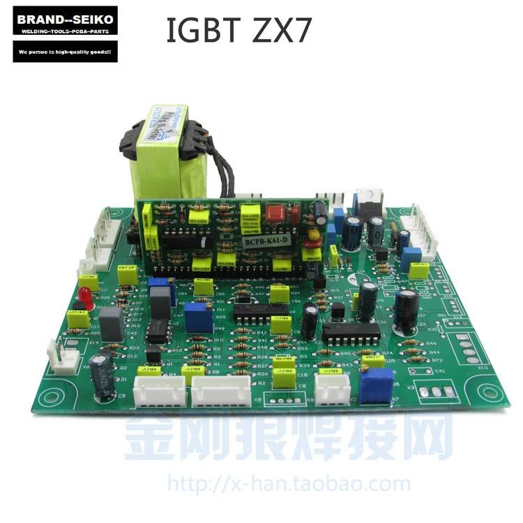 IGBT inverter dc kézi hegesztőgép ZX7 alaplap javító NYÁK - Hegesztő felszerelések - Fénykép 2