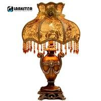 New Design 110v 220v E27 Fashion Table Lamp Luxury Bedroom Light Bed Lighting Bar Living Room