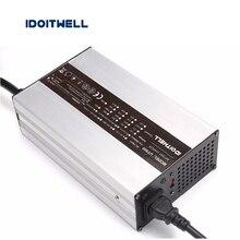 Personalizado 60 V série 67.2 V 16 S 71.4 V 17 S carregador de bateria de Iões de lítio 73 V 20 S LiFePo4 carregador de bateria 73.5 V carregador de bateria de Chumbo ácido