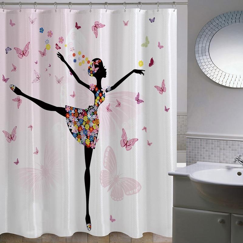 Achetez en gros de luxe tissu rideaux de douche en ligne des grossistes de luxe tissu rideaux - Rideau douche luxe ...
