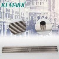 KEMAIDI Stainless Steel Brass Bathroom Shower Drain Floor Drain Trap Waste Grate Grid Strainer Waste Drain