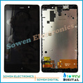 100% gurantee tested LCD display screen with touch screen digitizer with frame assembly full set for Nokia XL RM-1030 RM-1042