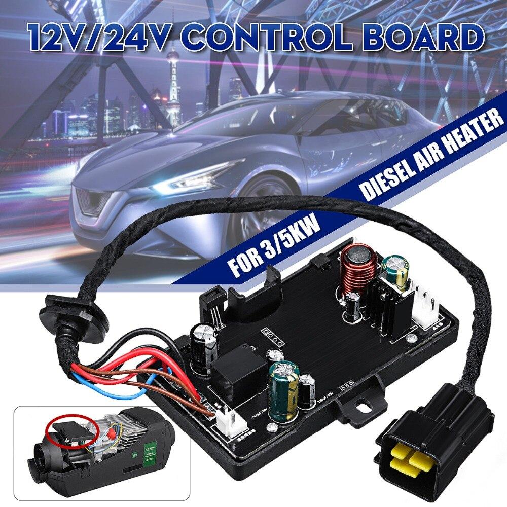 12V 24V 3KW 5KW Air Diesels Heater Parking Heater Controller Board Monitor Black