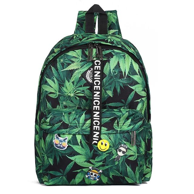 2017 Fashion School Backpack Women Children Schoolbag Back Pack hemp Korean Ladies Knapsack Laptop Travel Bags for Teenage Girls