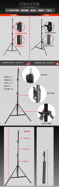 Menik 300W Professional Photography Studio Flash Strobe Light Lighting Kit  for Portrait Photography,Studio and Video ShootsNO00D