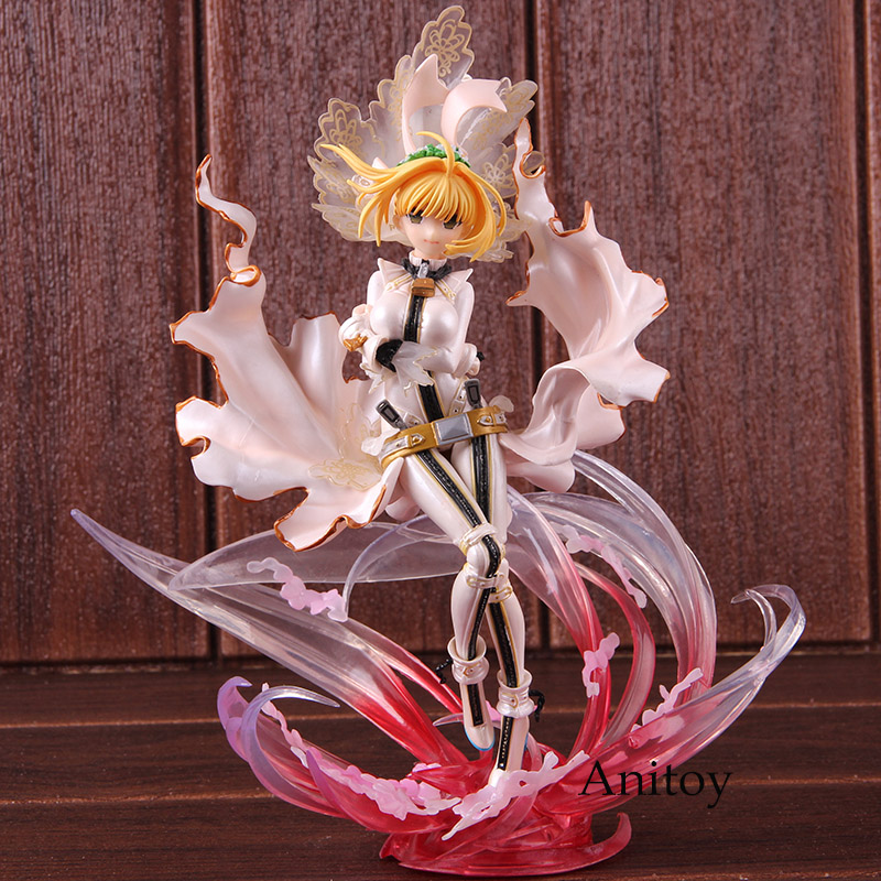 Action Figure Fate EXTRA CCC Nero Claudius Saber Bride Limited Edition 1 8 Scale PVC Collectible