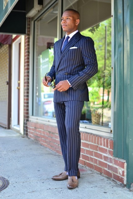 Latest-Coat-Pant-Designs-Navy-Blue-Stripes-Men-Suit-Slim-Fit-Skinny-2-Piece-Double-Breasted.jpg_640x640