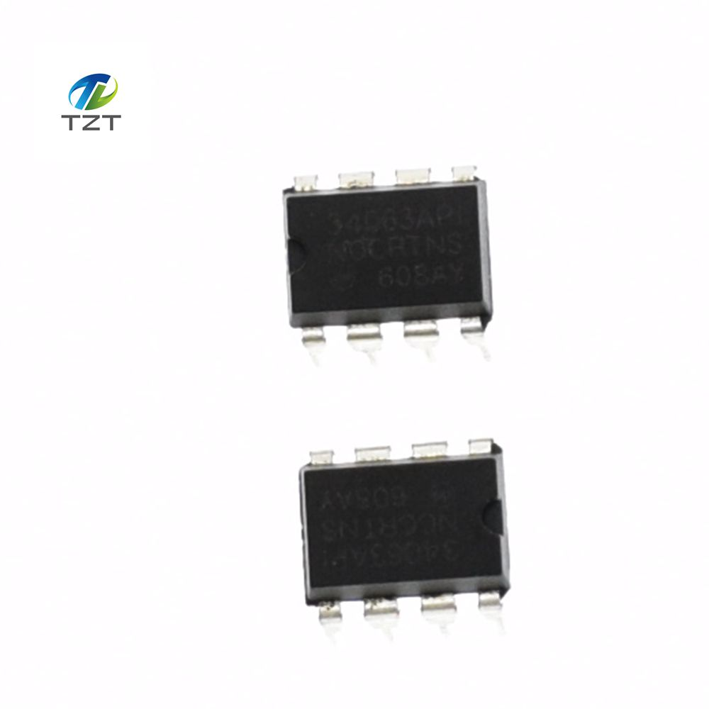 10PCS MC34063API MC34063 34063 DIP8 DIP Boost or buck power DC/DC converter