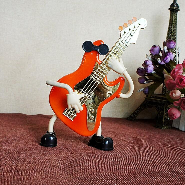 Creative Craft Ornaments Handkurbel Mechanische Spieluhr kann Gitarre - Wohnkultur - Foto 3