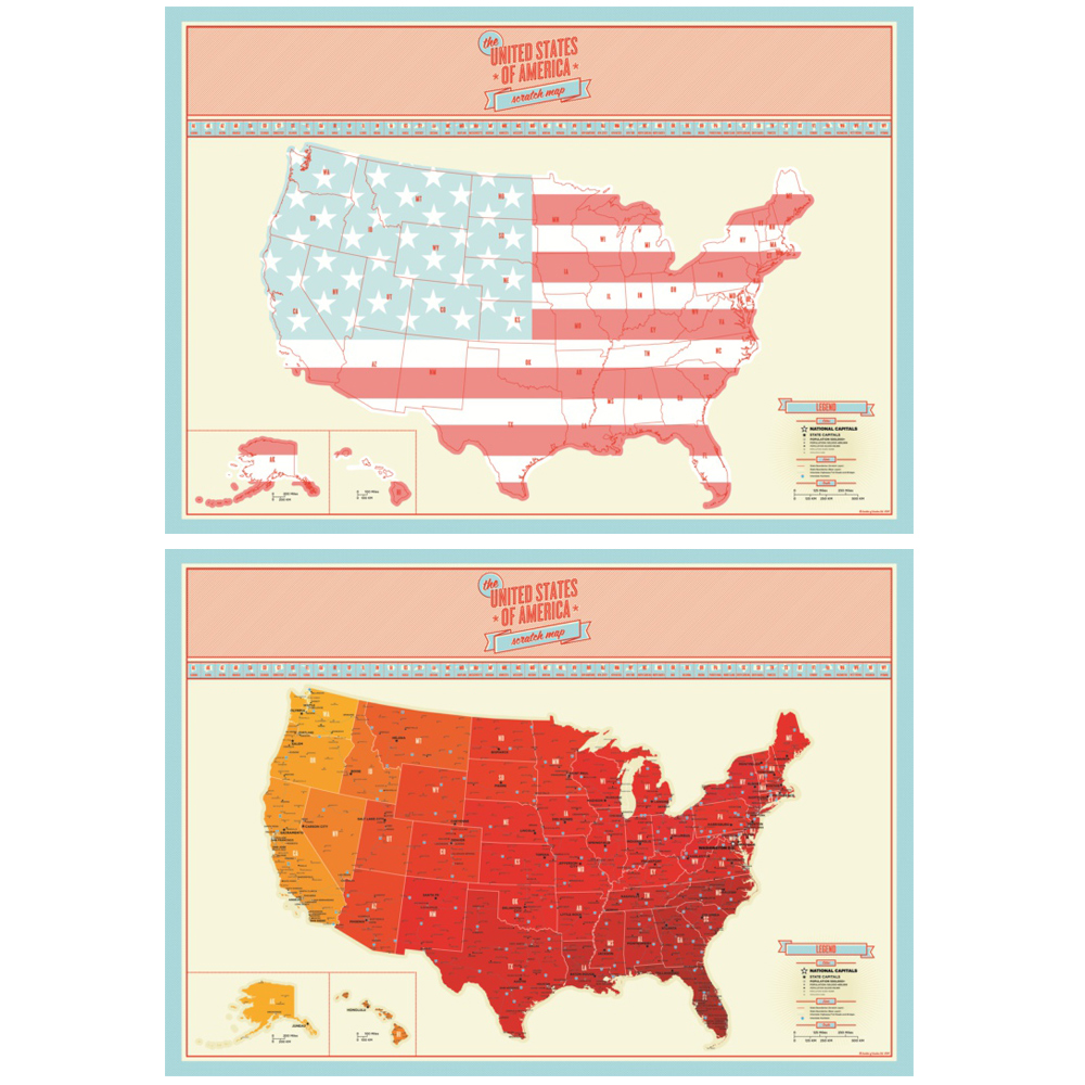Online Get Cheap United States Map Poster Aliexpresscom - Us map poster 24x36