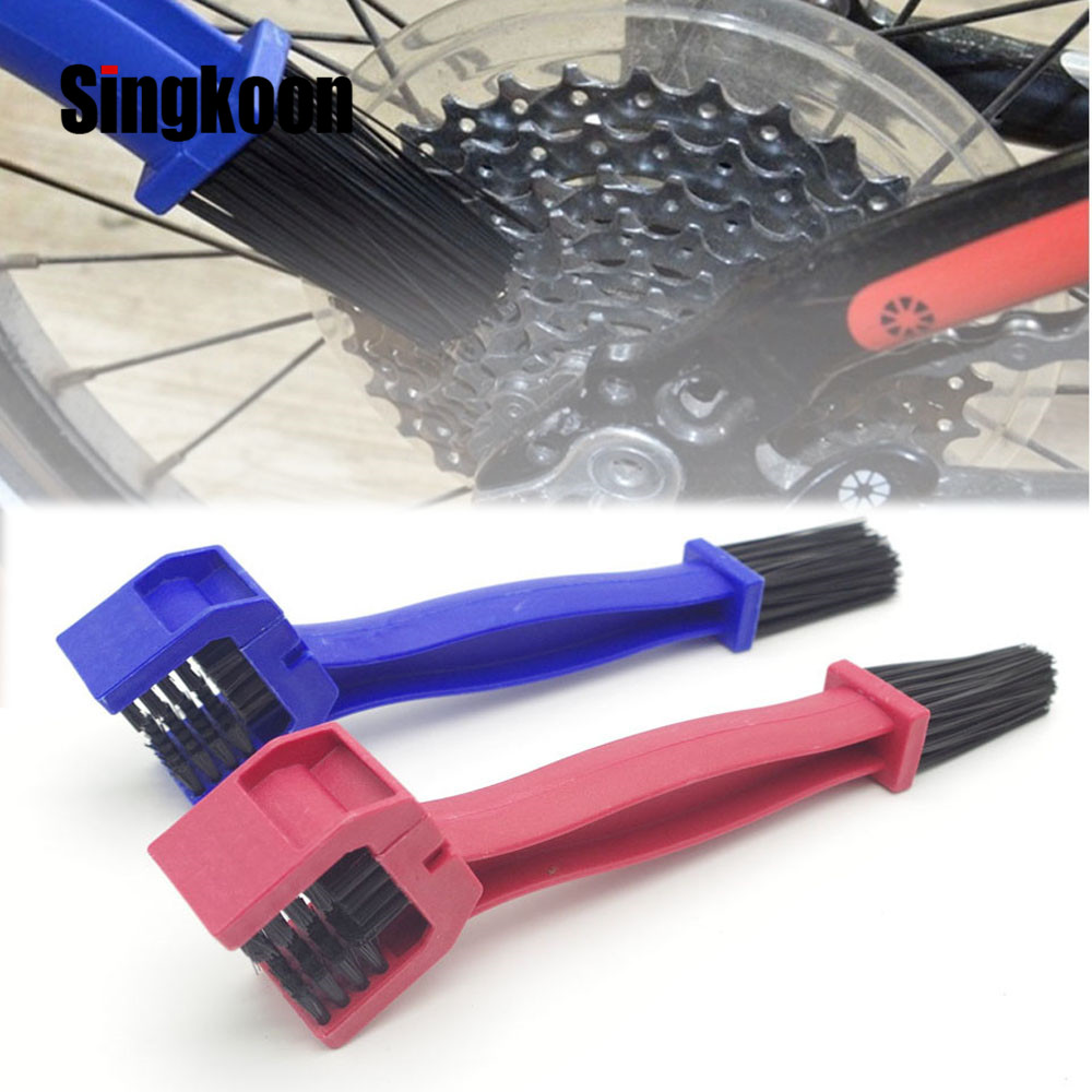 Plastic Motorcycle Bicycle Chain Brush Gear Grunge Brush Cleaner Outdoor tool for BMW K1200R K1200R SPORT K1200S R1200R R1200RT