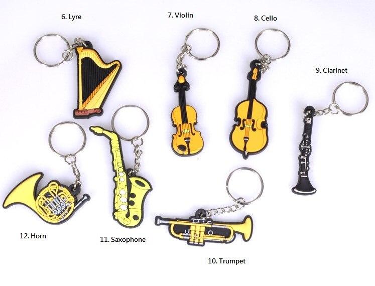 Mbledhja Instrumente Muzikore Souvenir IM, Guitar Keychain, Ukulele, - Instrumente muzikore - Foto 3
