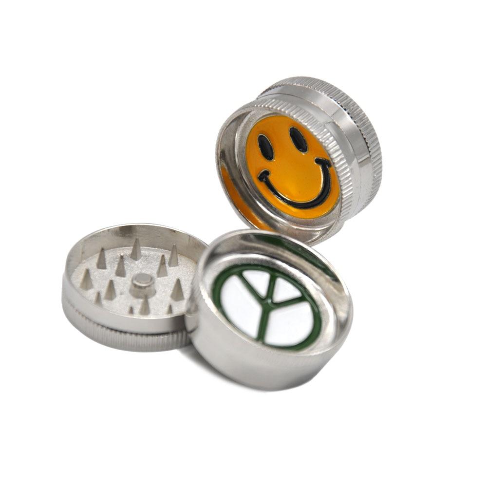 Grinder broyeur mini grinder peace en métal 2 parties 30 mm moulin