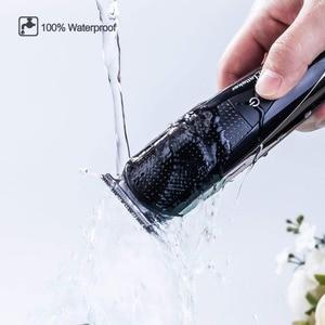 Image 2 - Multifunções barbeador elétrico facial para homens molhado seco máquina de barbear corpo barbeador cabelo recarregável elétrica navalha barba grooming