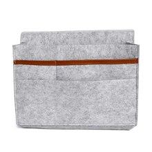 Детские Постельное белье хранения Подгузники сумка прикроватная Caddy кровать Мумия мешок многофункциональный висит держатель карманы контейнер продукты