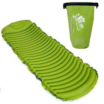 Hot Ultralight Sleeping Mat Inflatable Environmental Mattress Bed For Outdoor Sandbeach And Self-driving Camping Hiking Travel