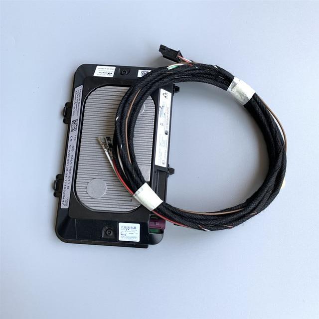 Original สำหรับ Wireless Charger โมดูลสำหรับ VW Golf 7 Tiguan L Touran L Passat b8L 5NA 980 611 5NA980611