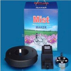 Nowy ultrasoniczny dyfuzor fogger 5 nawilżacz + transformator 1500 ml/h/z kolorowym światłem