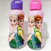 1 шт. 350 мл замороженный Дисней Принцесса мультфильм Микки кукла соломенный ремешок чашка воды чайник девочка мальчик бутылка для детей Эльза чашка