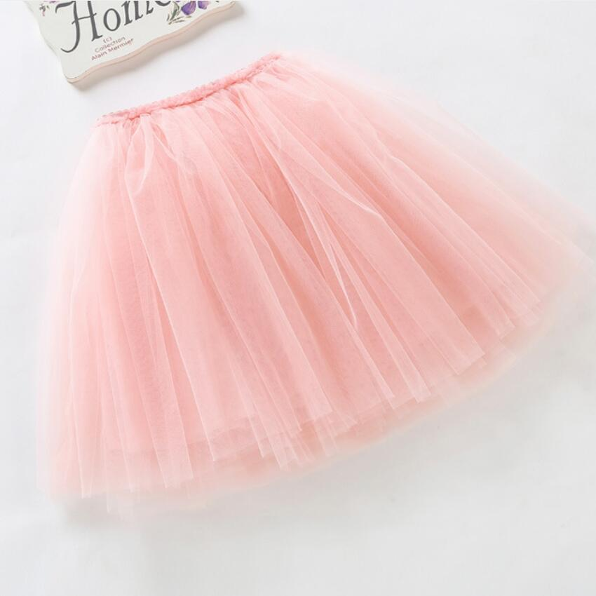 summer lovely fluffy soft tulle baby girls tutu skirt pettiskirt 14 colors girls skirts for 6M-14Yrs kids mother daughter skirts 2
