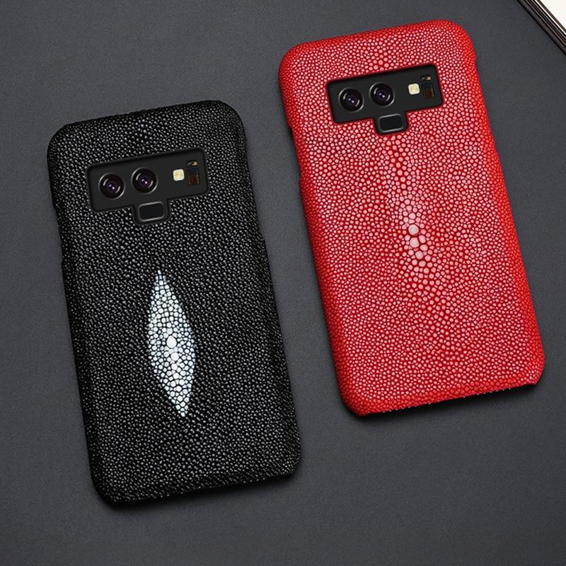 Чехол для телефона для samsung Galaxy Note 9 8 5 4 S6 S7 край S8 S9 плюс A7 A8 J5 J7 тайский жемчуг рыба Stingray Dasyatis akajei задняя крышка