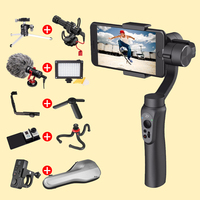 Original Zhi Yun Zhiyun Smooth Q 3 Axis Smartphone Handheld Gimbal Video Stabilizer Wireless For Go