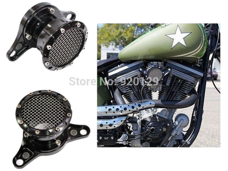 Motorcycle parts Velocity Stack Air Intake For Harley Davidson Sportster XL 883 1200 1991-2014 mtsooning timing cover and 1 derby cover for harley davidson xlh 883 sportster 1986 2004 xl 883 sportster custom 1998 2008 883l
