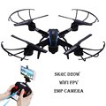 SKYC D20W RC Drones WiFi FPV 2MP Camera  Quadcopter 2.4GHz 4CH 6 Axis Gyro Headless Mode RC Helicopter 3D Rollover RTF Version