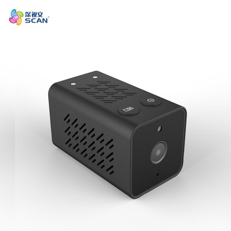 Hd 720 P batterie Wifi Caméra ip de Détection de Mouvement Mini Carte Secret support de caméra Cachée Cctv de Sécurité de Surveillance Livraison Gratuite