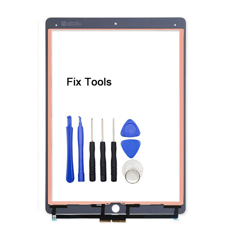 1Pcs Digitizer Touch Screen Assembly For Apple iPad Pro 12.9 (2015 Version) A1584 A1652 Front Outer Glass Panel+Tools 1pcs for ipad pro 12 9 2015 version a1584 a1652 touch screen digitizer front outer panel glass tools