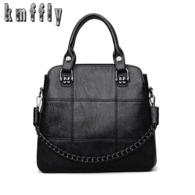KMFFLY Fashion Leather Women Bags Handbags Women Famous Brands Luxury Designer Plaid Sholder Bag Ladies Casual Tote Sac A Main шапка для девочки marhatter цвет сиреневый mdh7223 размер 40 42