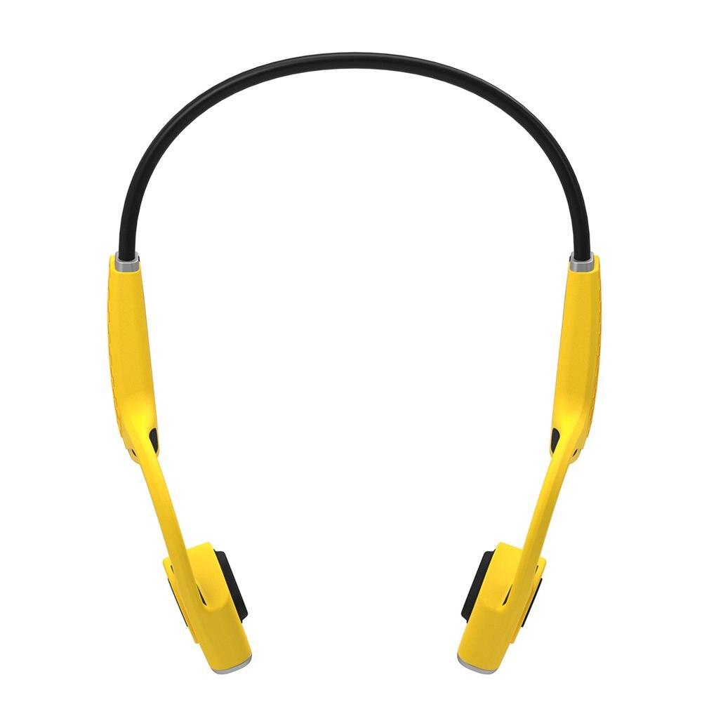 Senza fili di Conduzione Ossea Cuffie Bumblebee Open-Ear Wireless Conduzione Ossea Cuffie con Strisce RiflettentiSenza fili di Conduzione Ossea Cuffie Bumblebee Open-Ear Wireless Conduzione Ossea Cuffie con Strisce Riflettenti