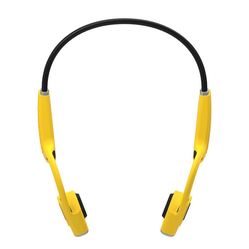 Wireless Bone Conduction Headphones Bumblebee Open-Ear with Reflective Strips