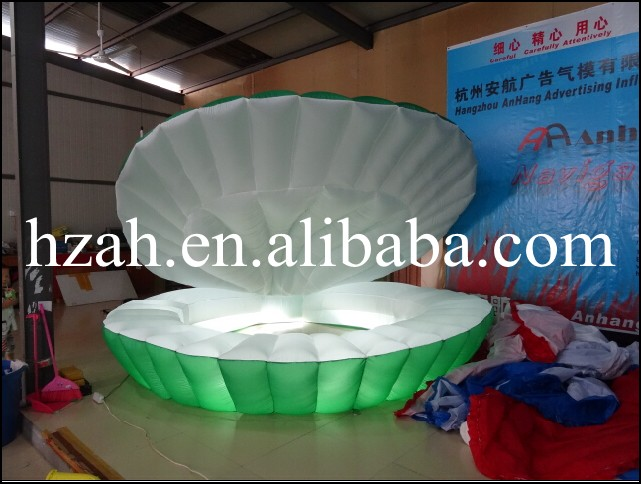 Advertising Inflatable Clamshell Light Inflatable Seashell Decorative inflatable square advertising helium balloon