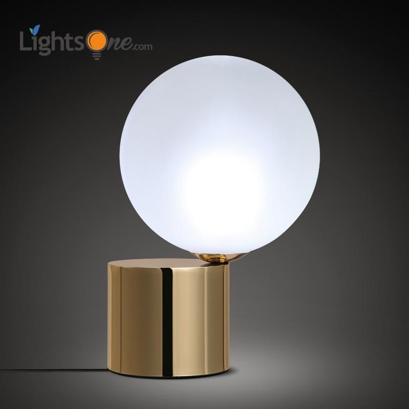 レトロ銅研究と作業 LED デスクランプ近代的なミニマリストのファッションヨーロッパ目のテーブルランプ  グループ上の ライト & 照明 からの LED 卓上ライト の中 1