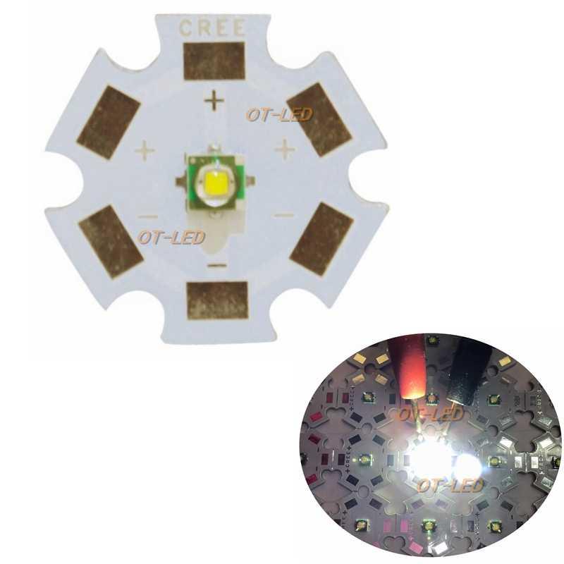 10 pcs קריס XPE XP-E R3 3535 SMD 1 W 3 W LED פולט דיודה ניטראלי לבן מגניב לבן אדום ירוק כחול רויאל בלו LED עם צלעות קירור