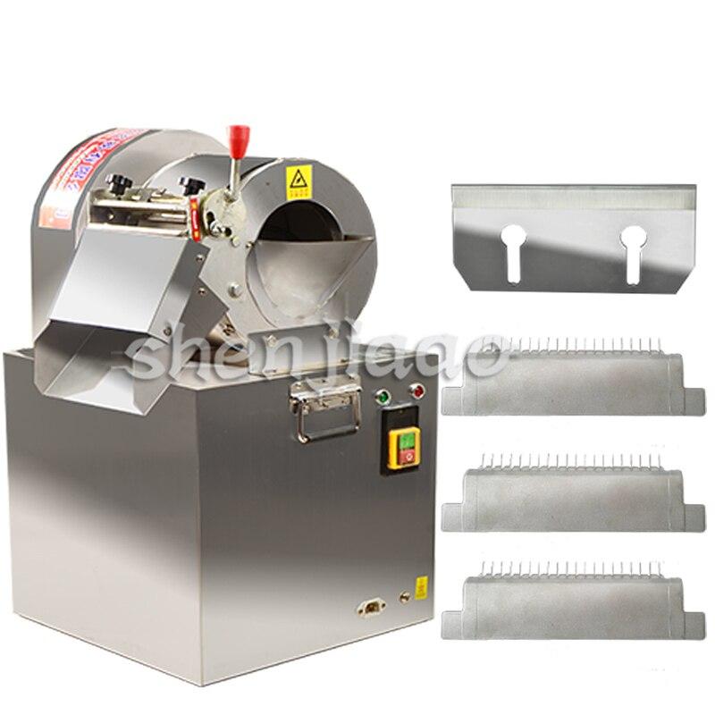 220V商業用電気野菜カッターマシンキッチンステンレス回転スライサーポテトフライ切断機300KG / H HOTКартофельфри