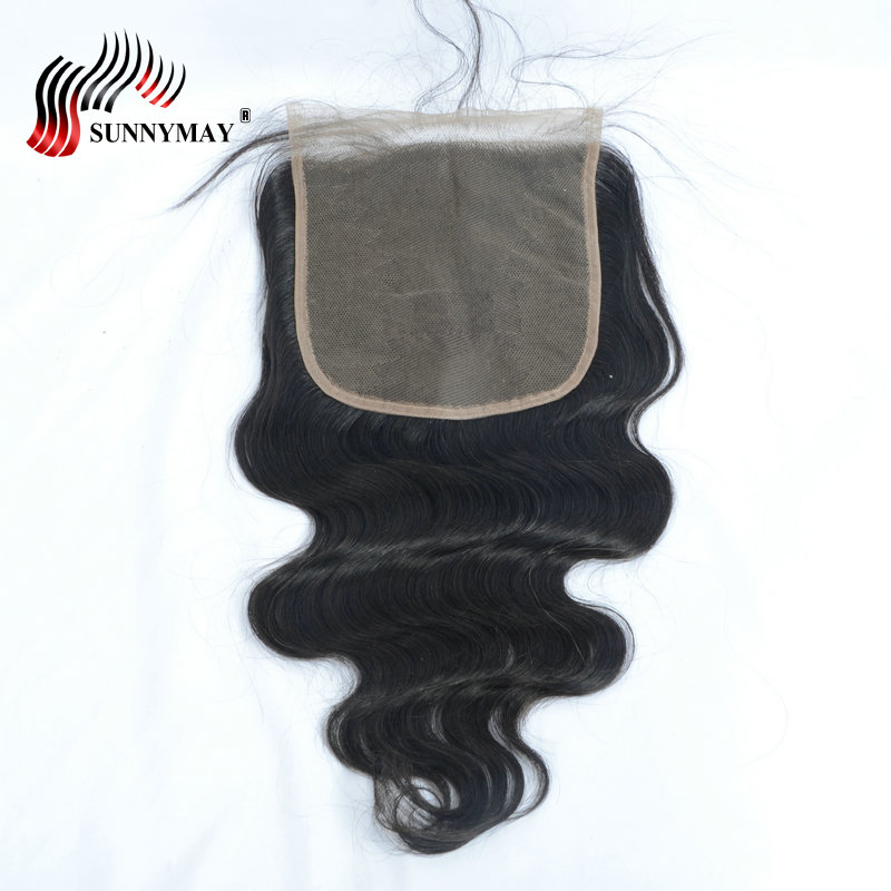 Sunnymay Pre Plucked 6x6 Lace Closure With Baby Hair Beauty Forever Hair Brazilian Virgin Body Wave