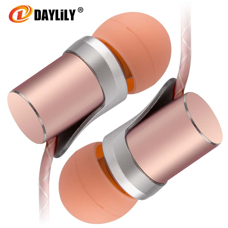DAYLiLY headphones phone fone de ouvido sport Earphones auriculares Fashion music Microphone headset computer bass Earphones mp3