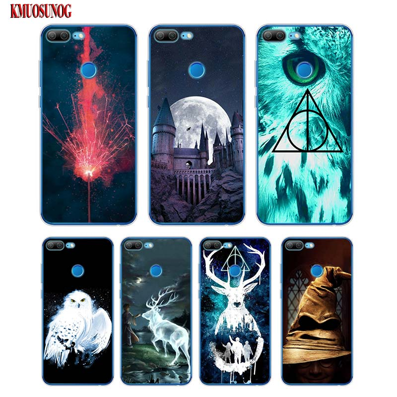 Flip Pu Leather Cases For Huawei Honor Play Fundas Cool Pattern Tiger Lion Owl Wallet Stand Cover For Honor Play Case 6.3 Inch To Rank First Among Similar Products Consumer Electronics
