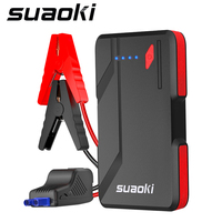 Suaoki P4 Portable Power Bank 500A Peak Up to 5.0L Gas 2.0L Diesel Engines Jump Starter Type C 5V/3A Port Quick Charge 3.0