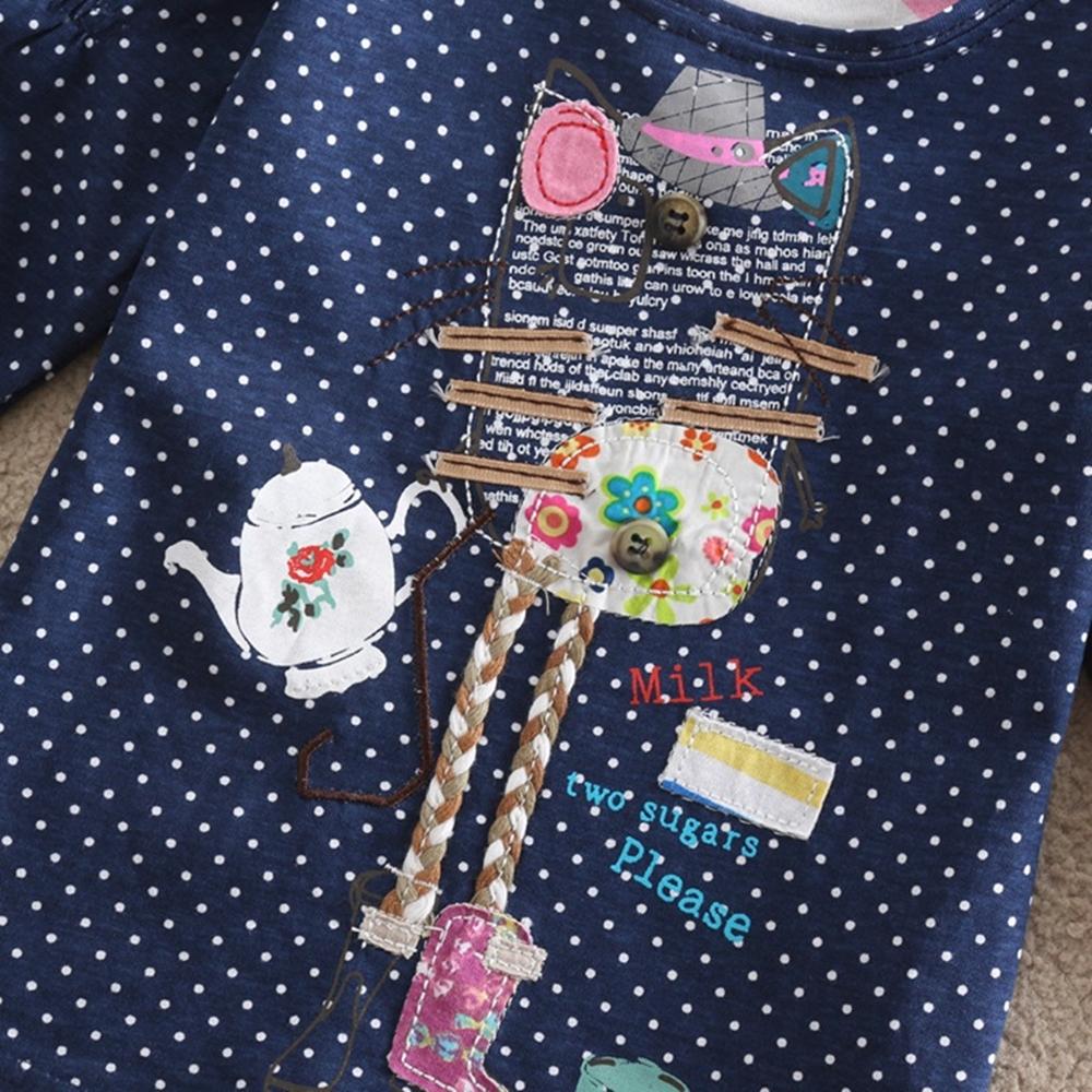 HTB1lkE2QFXXXXajXpXXq6xXFXXXA - Girls Long Sleeve All Year T-Shirt, Long Sleeve, Cotton, Various Designs and Prints