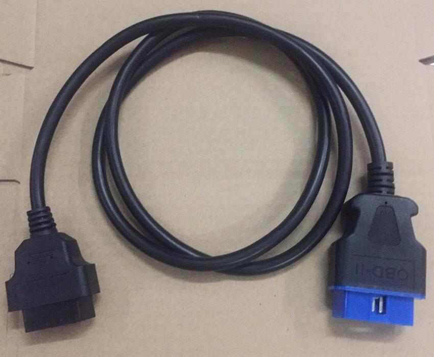 RCOBD 1.2 m 16 Broches Mâle À 16 Broches Femelle OBD2/OBDII Extension câble OBD2 Connecteur 16Pin OBDii diagnostic outil ELM327 Câble
